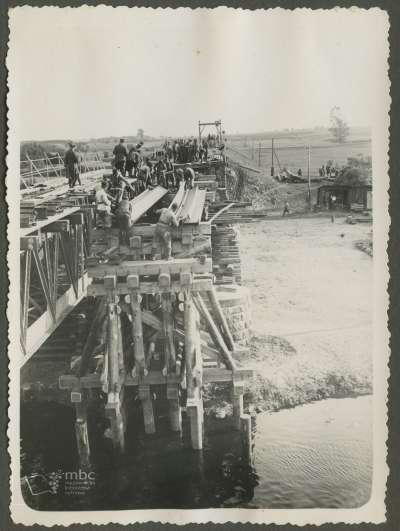 budowa mostu 1935