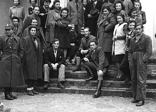 Plener ASP w Suffczynie 1946 rok